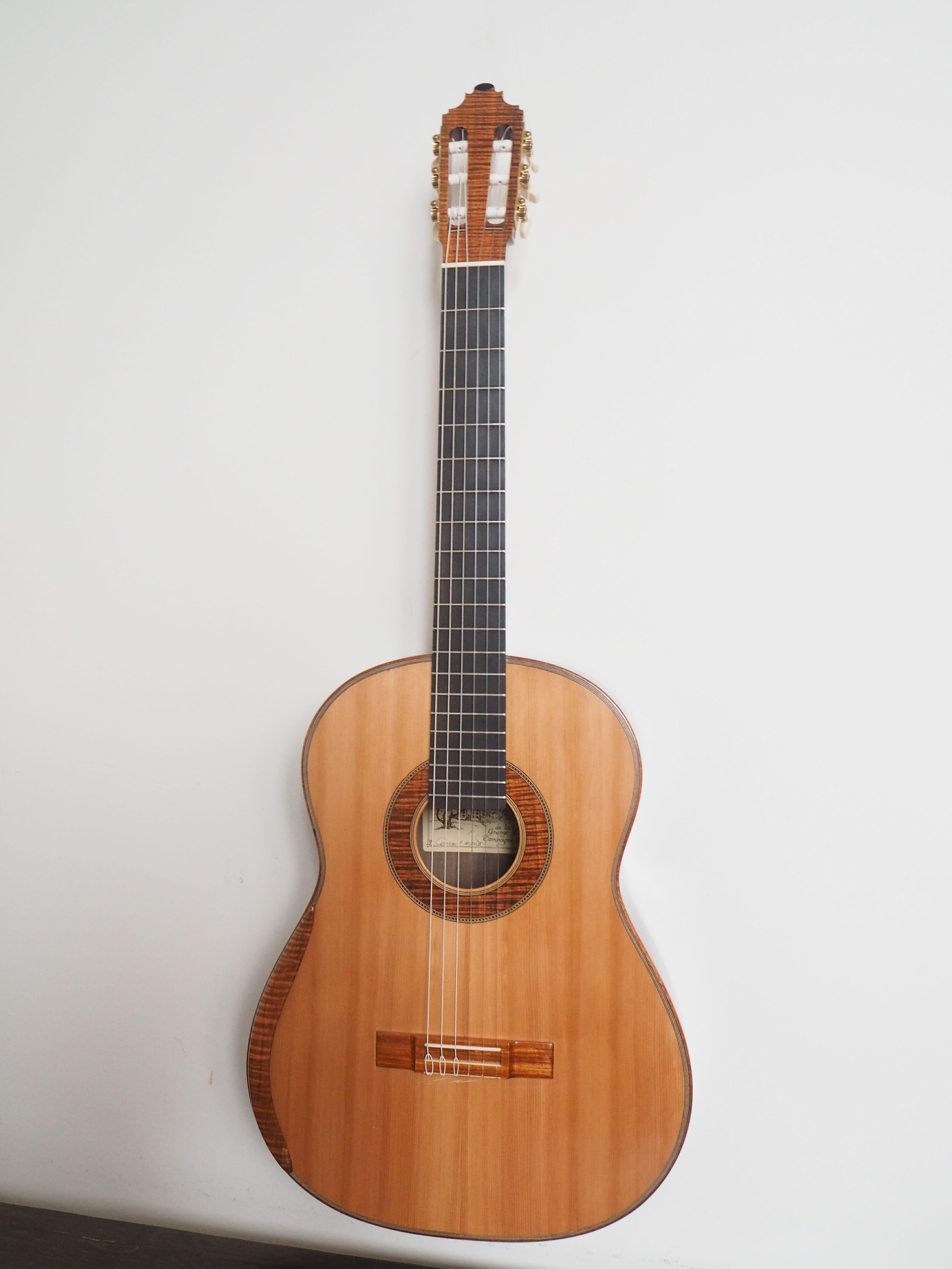 guitare classique du luthier graham Caldersmith