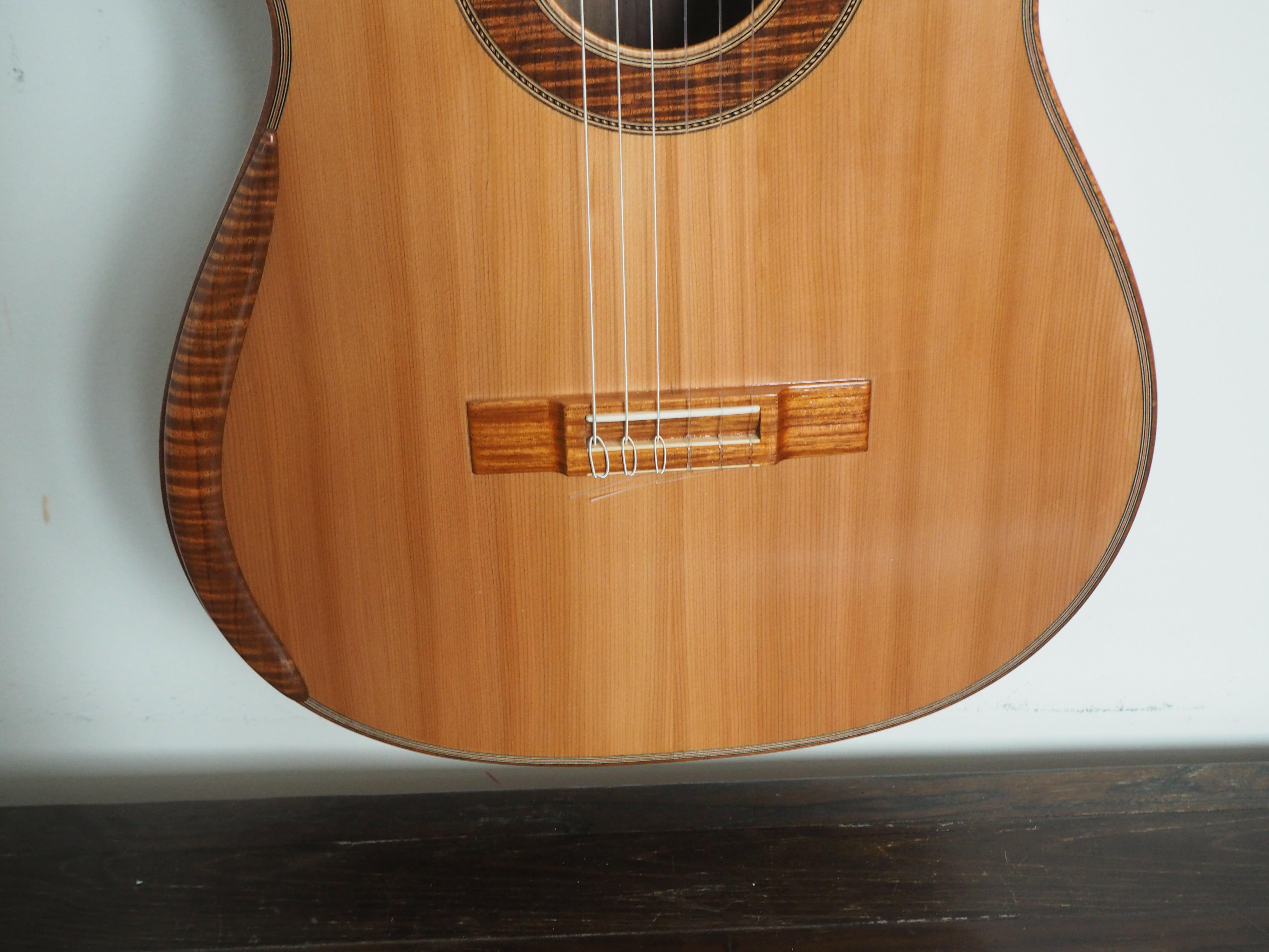 guitare classique luthier Graham Caldersmith n°101 modèle concert 15CAL101-04