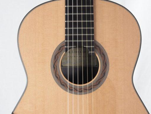 Kim Lissarrague luthier guitare classique No 19LIS328-10