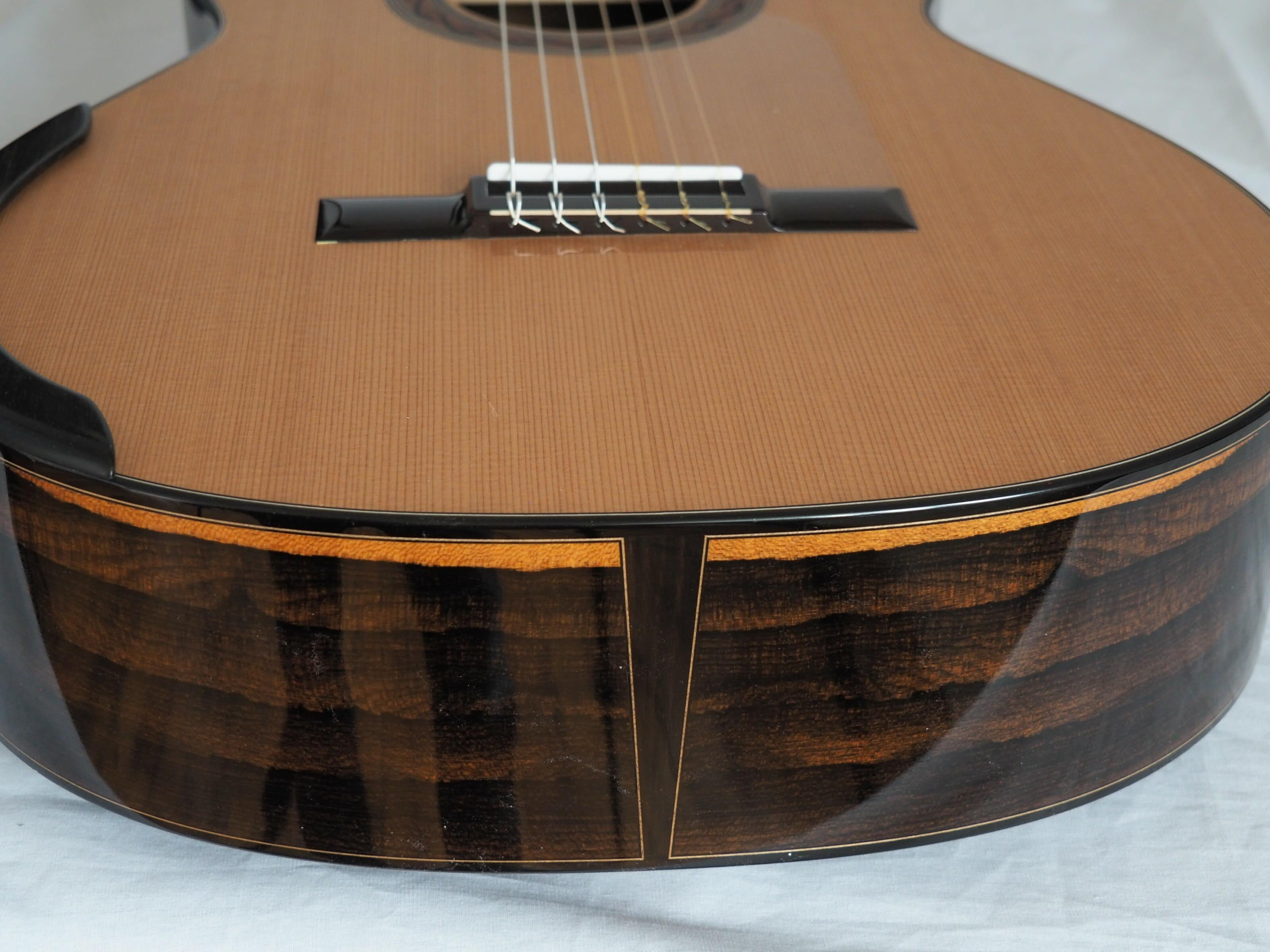 Kim Lissarrague luthier guitare classique No 19LIS328-01