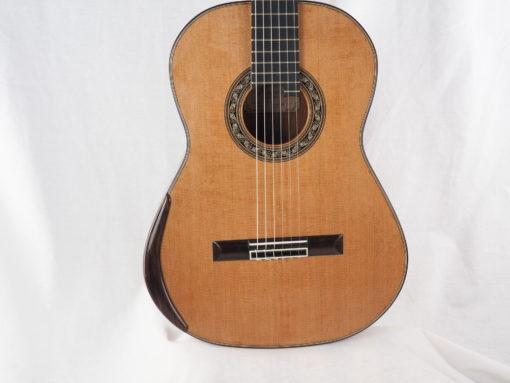 Charalampos Koumridis luthier guitare classique No 19KOU131-11