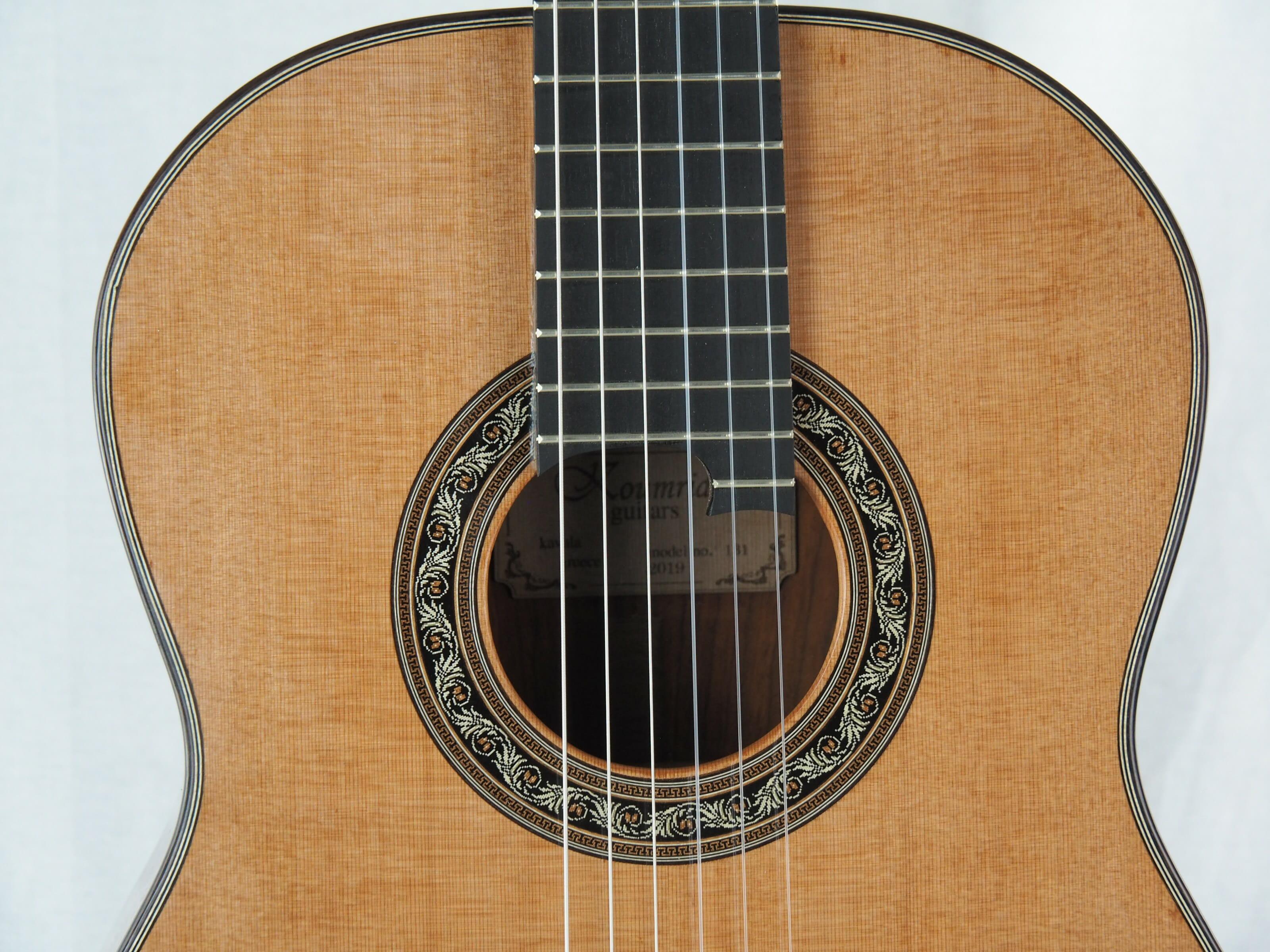 Charalampos Koumridis luthier guitare classique No 19KOU131-10