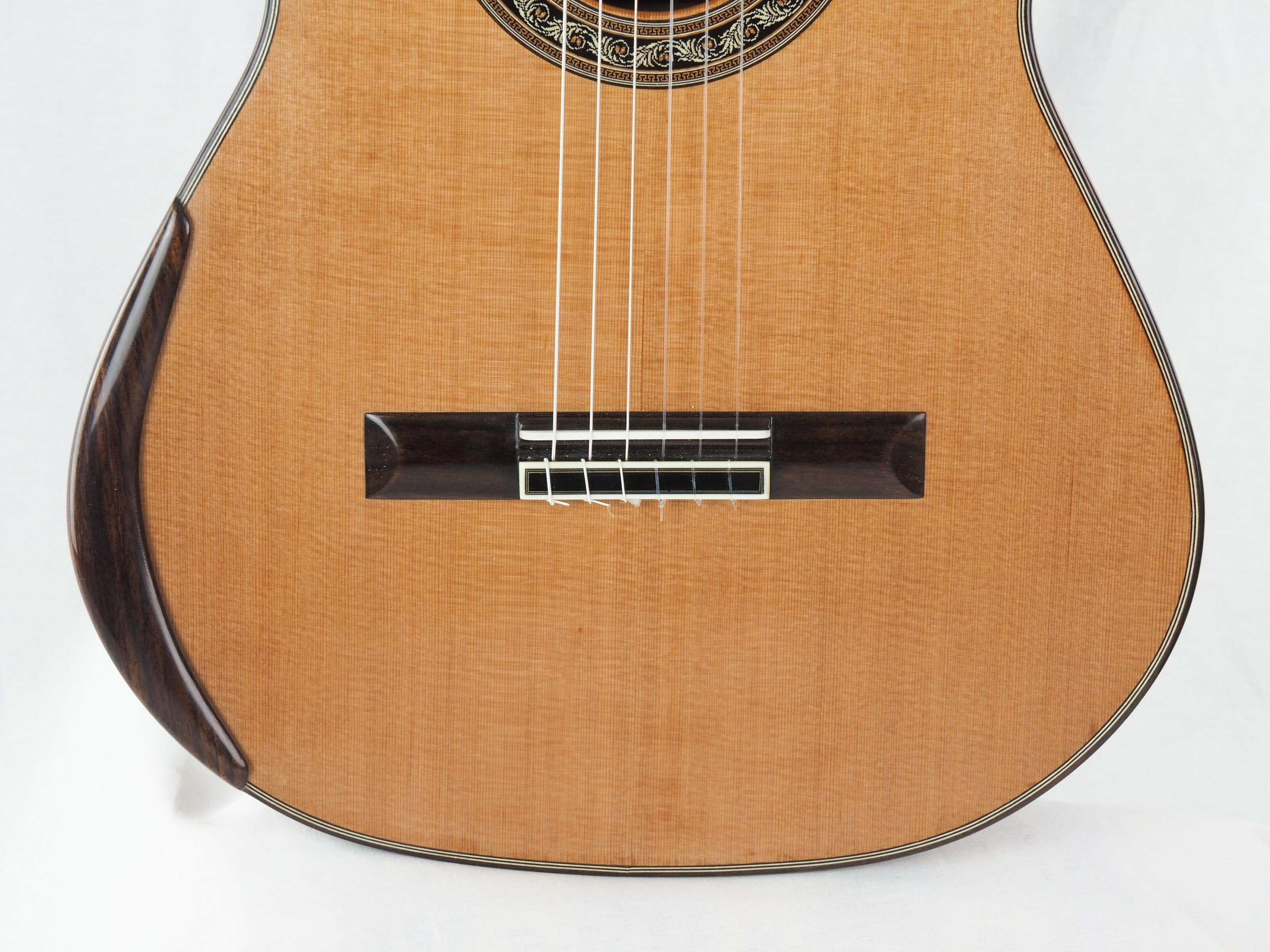 Charalampos Koumridis luthier guitare classique No 19KOU131-09