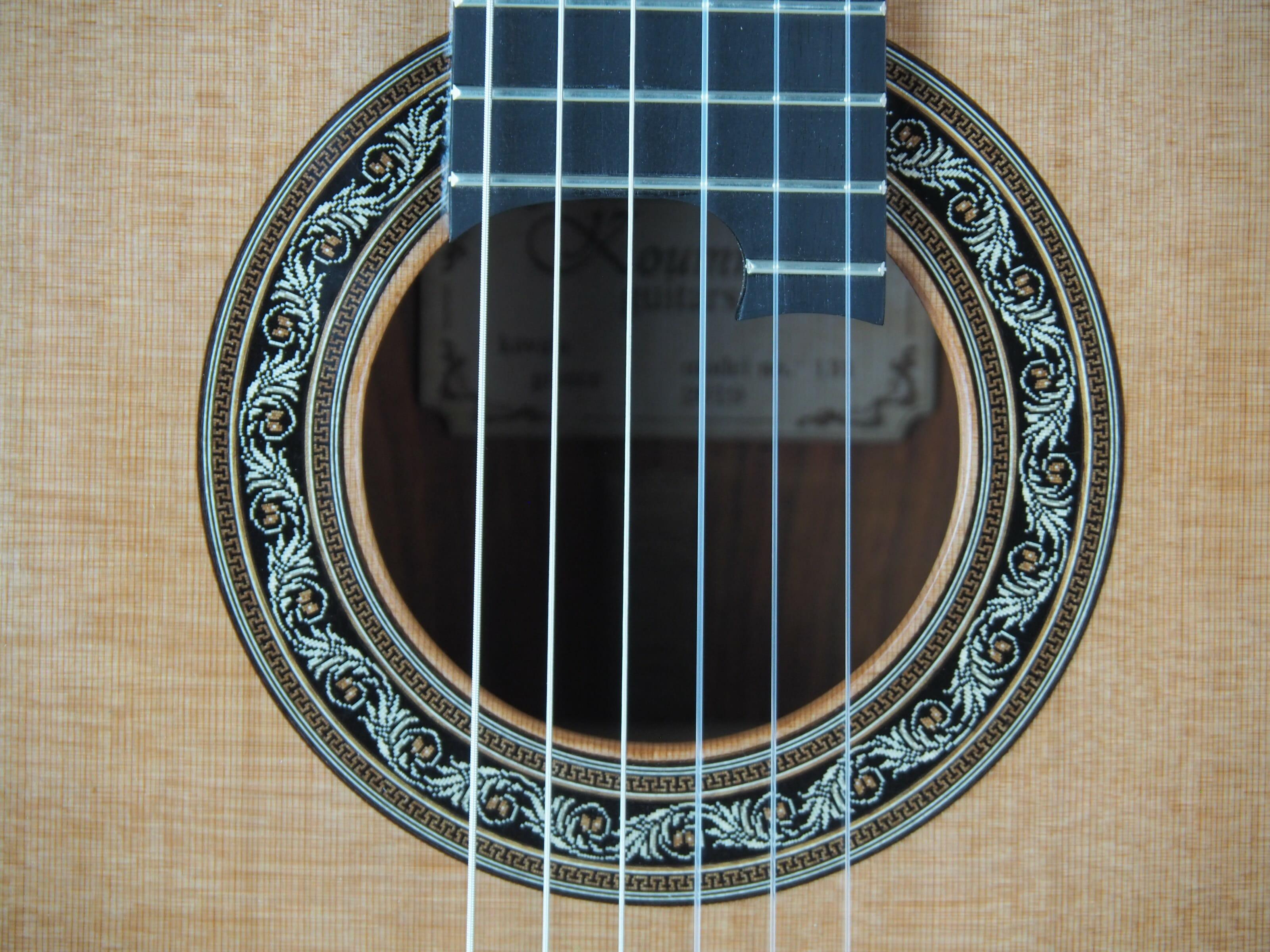 Charalampos Koumridis luthier guitare classique No 19KOU131-08