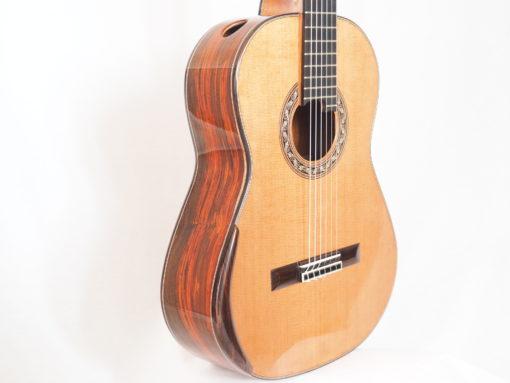 Charalampos Koumridis luthier guitare classique No 19KOU131-06
