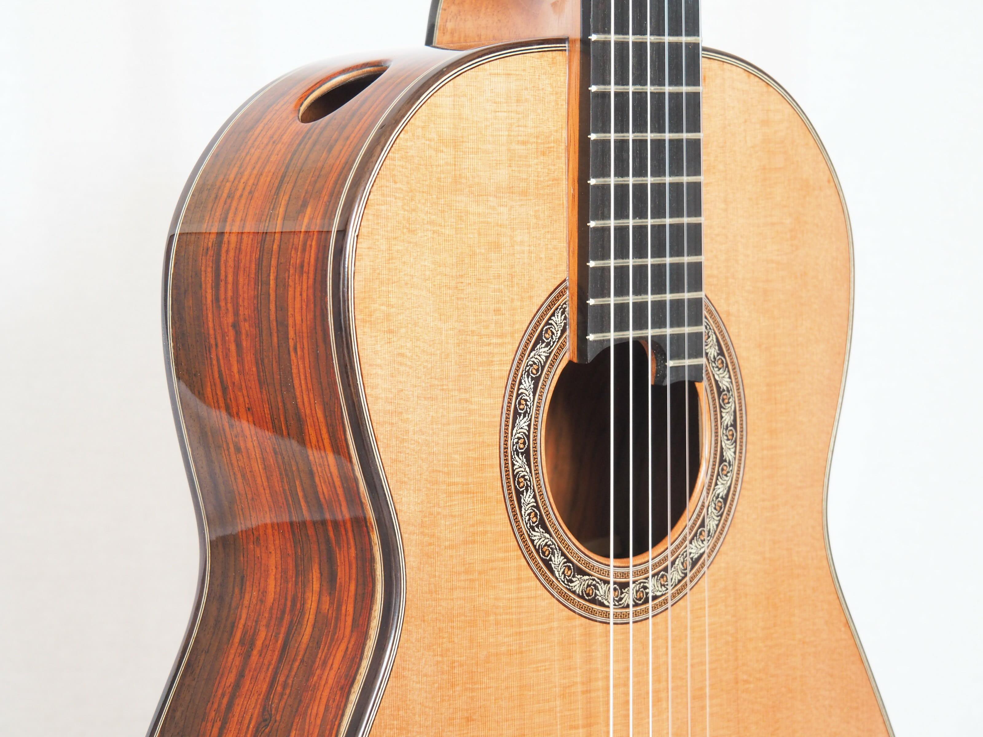 Charalampos Koumridis luthier guitare classique No 19KOU131-05