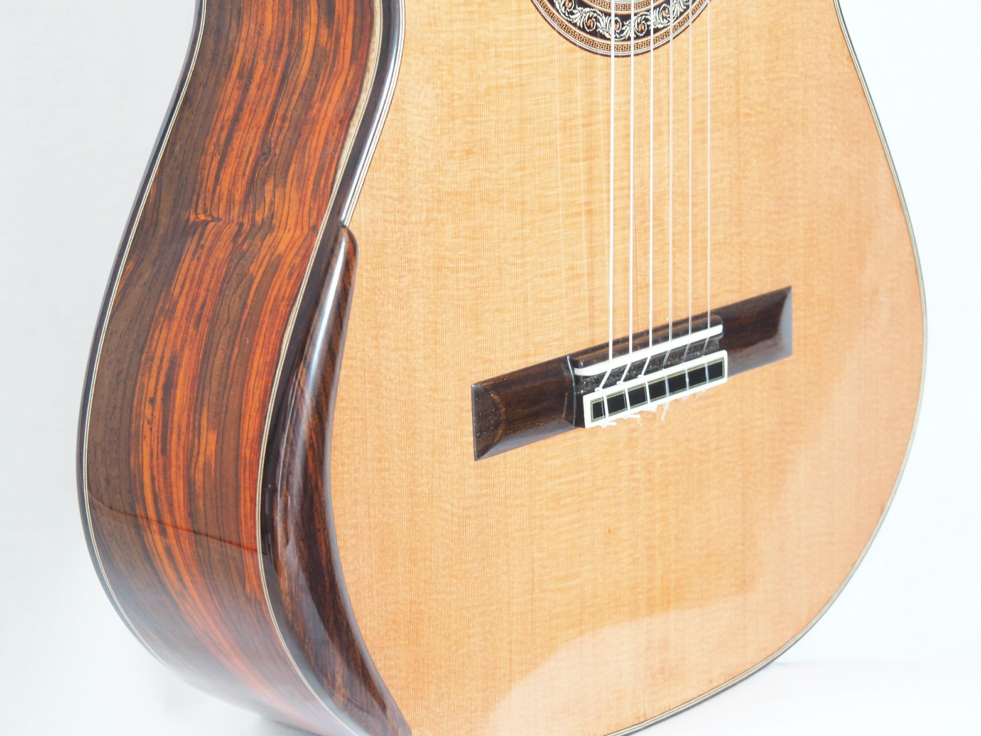 Charalampos Koumridis luthier guitare classique No 19KOU131-04