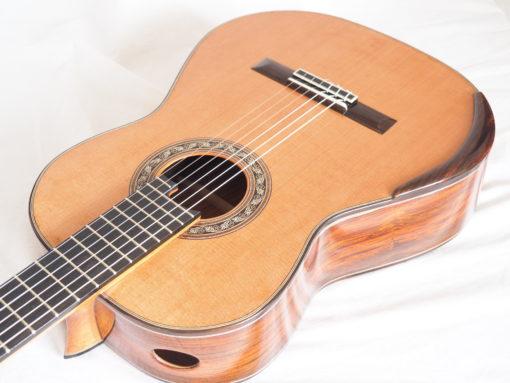 Charalampos Koumridis luthier guitare classique No 19KOU131-01
