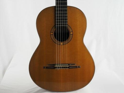 Luthier Stephan Schlemper guitare classique Ebanista