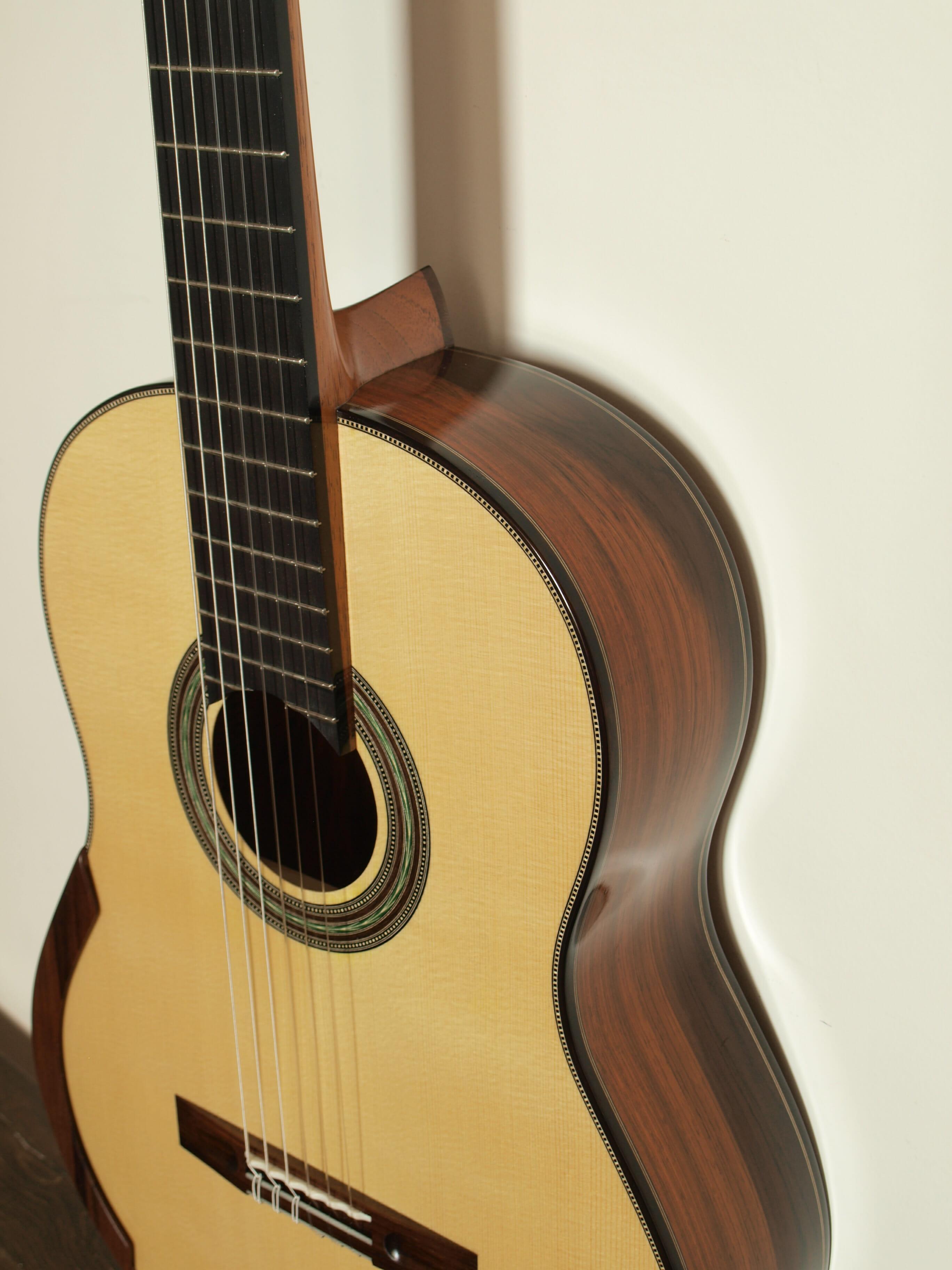 Guitare classique de concert du luthier Stanislaw Partyka 15PAR004 -01