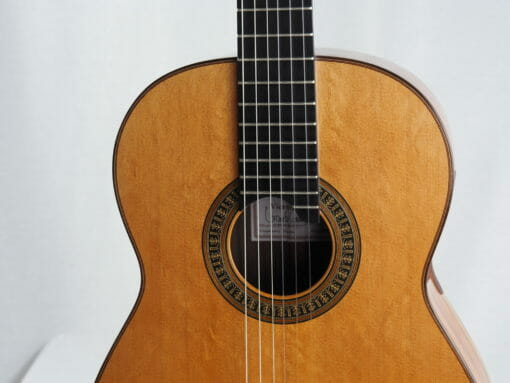 vicente carrillo Guitare classique du luthier herencia especial 08