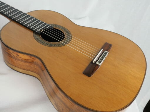 vicente carrillo Guitare classique du luthier herencia especial 03