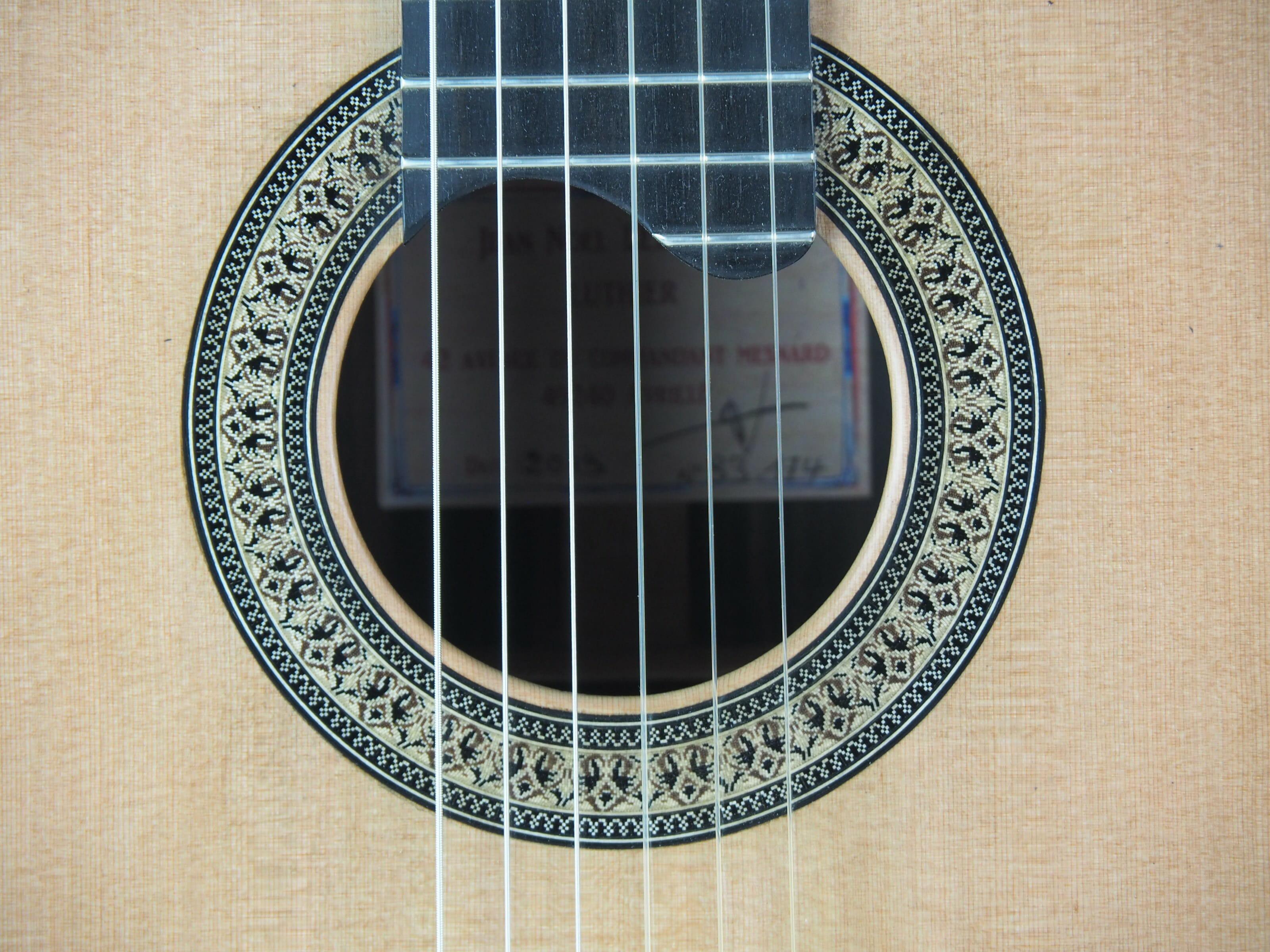 Jean-Noel Lebreton luthier guitare classique No 19LEB192-08