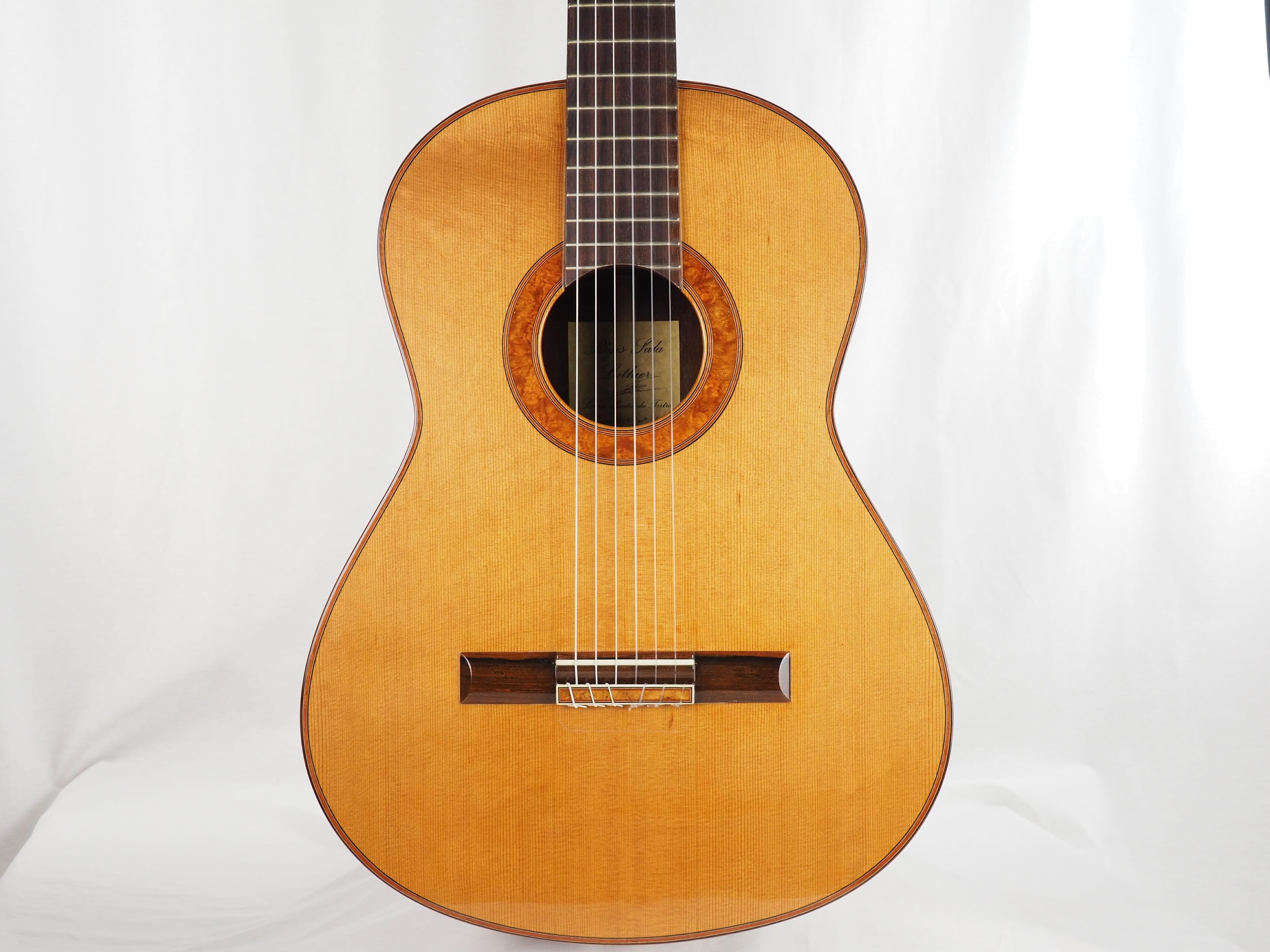 Luthier régis Sala guitare classique Amboine 17SAL017-01