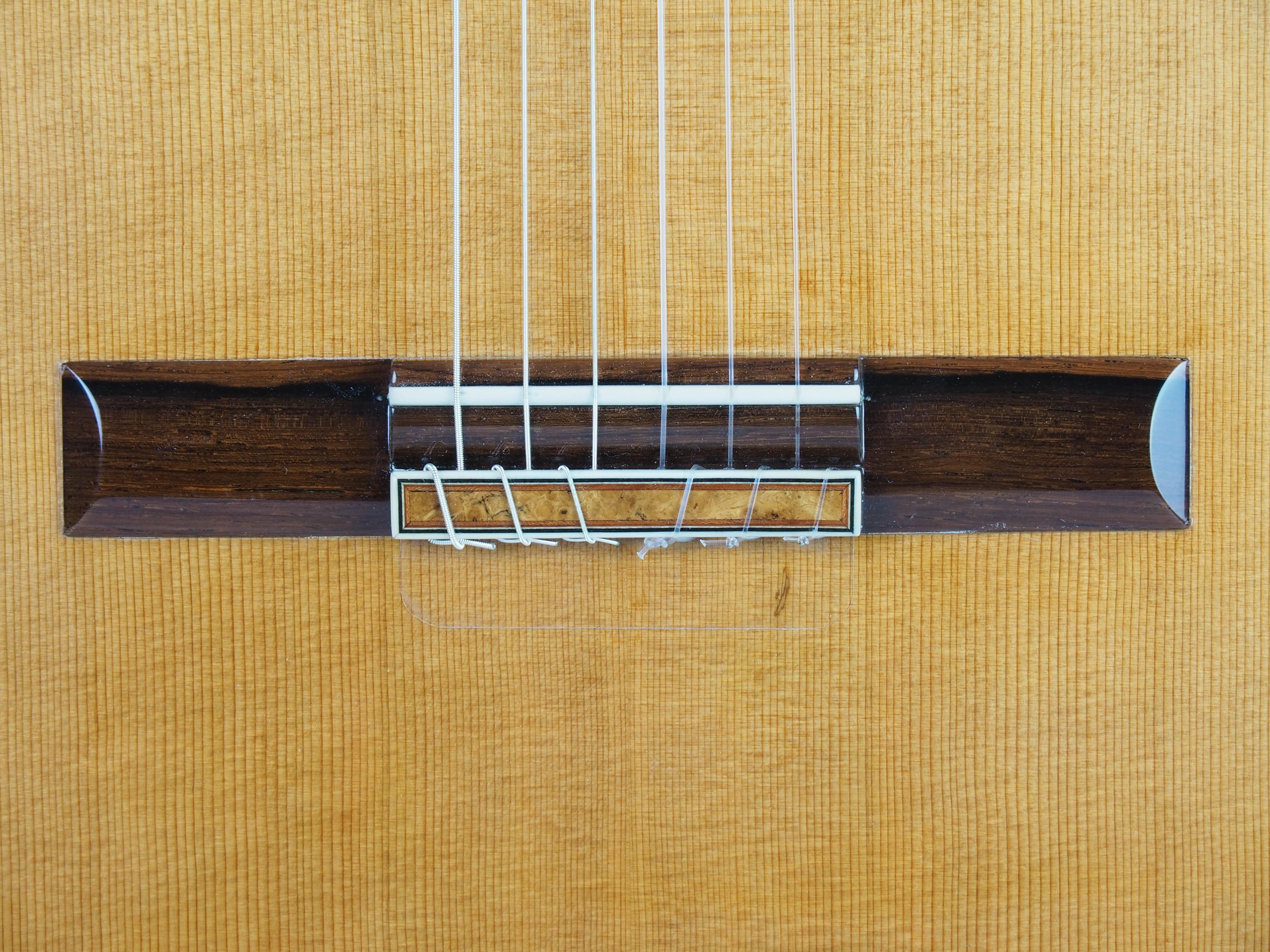 luthier Régis Sala guitare classique Amboine