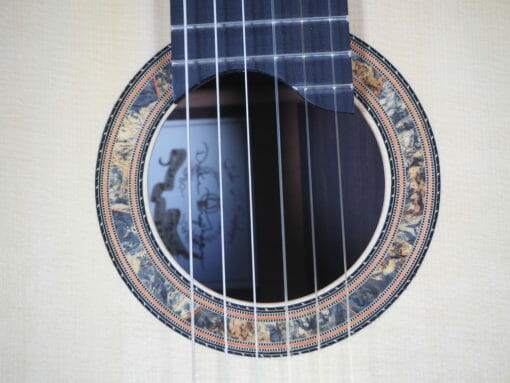 Guitare classique luthier dake Traphagen double-table