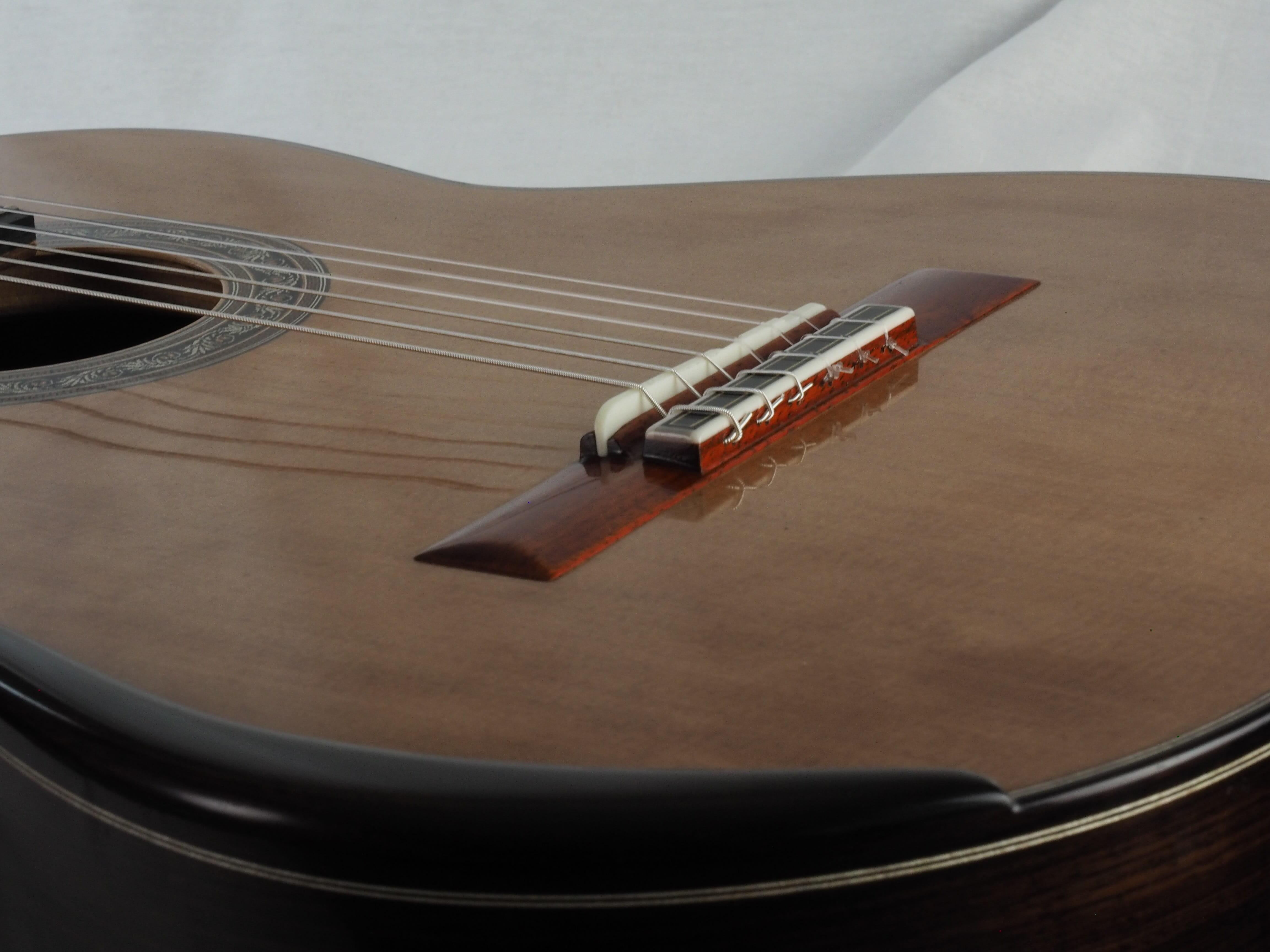 Luthier Koumridis Charalambos guitare classique