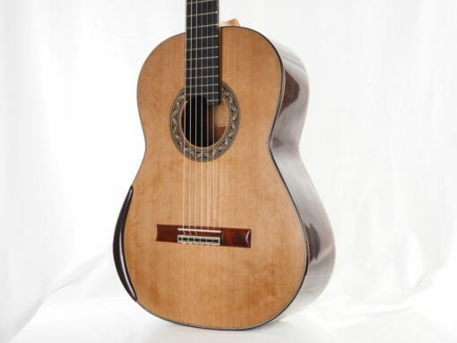 Luthier Koumridis Charalambos guitare classique n°87