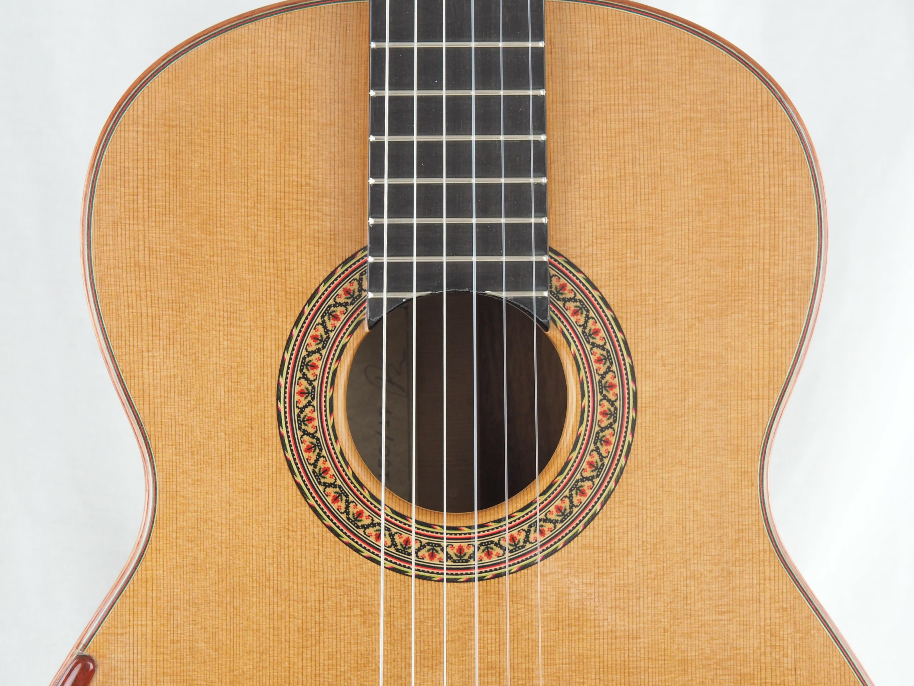 Luthier Vasilis Vasileiadis guitare classique no. 19VAS156-08