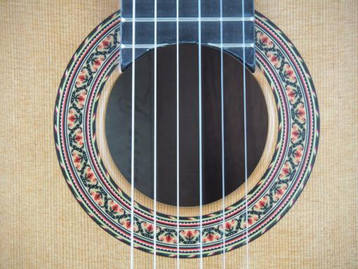 Luthier Vasilis Vasileiadis guitare classique no. 19VAS156-09