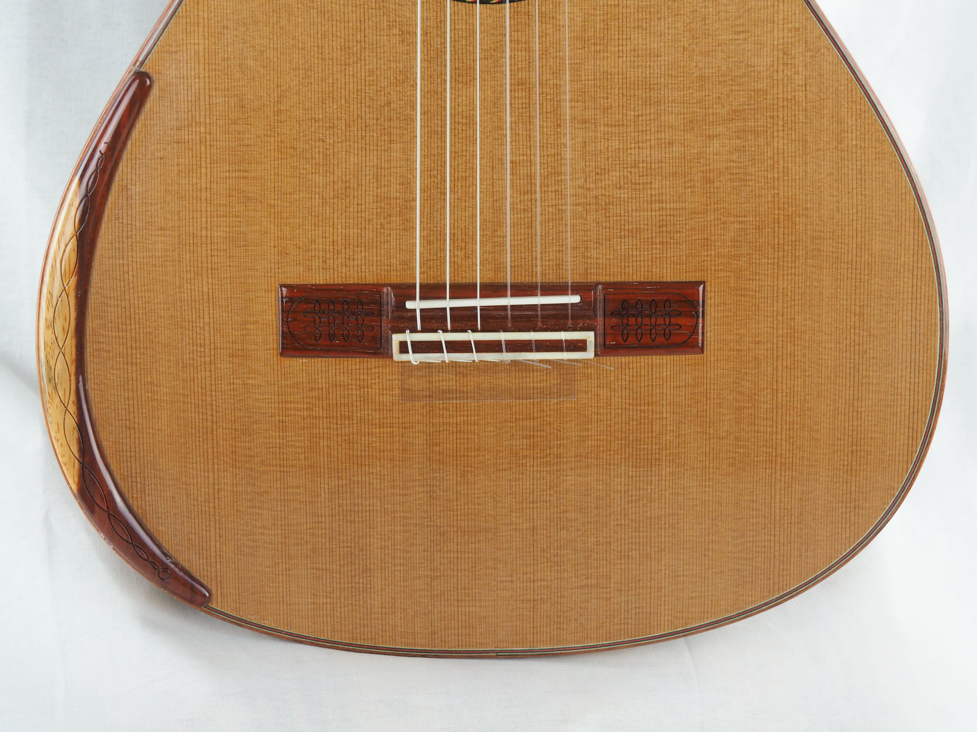 Luthier Vasilis Vasileiadis guitare classique no. 19VAS156-07