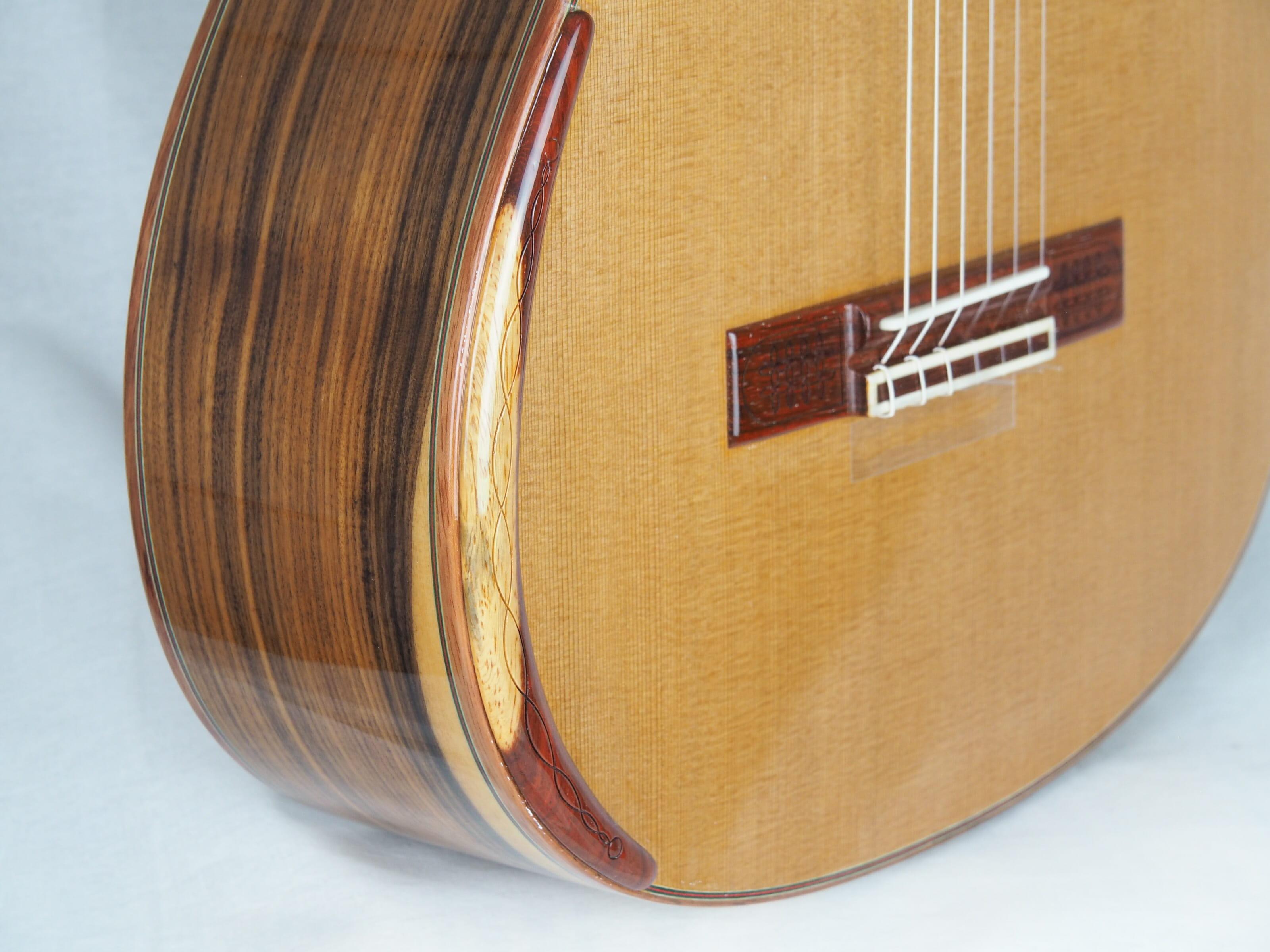 Luthier Vasilis Vasileiadis guitare classique no. 19VAS156-06