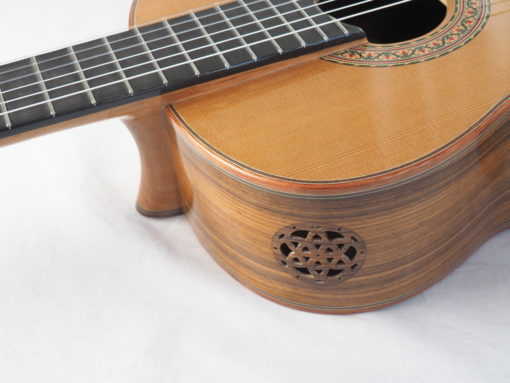 Luthier Vasilis Vasileiadis guitare classique no. 19VAS156-02