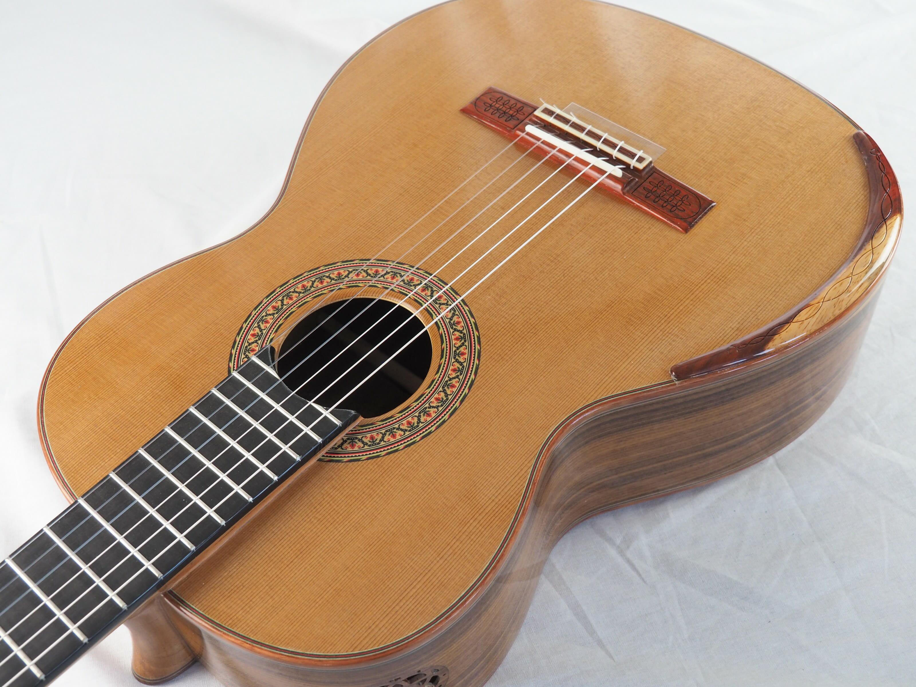 Luthier Vasilis Vasileiadis guitare classique no. 19VAS156-01
