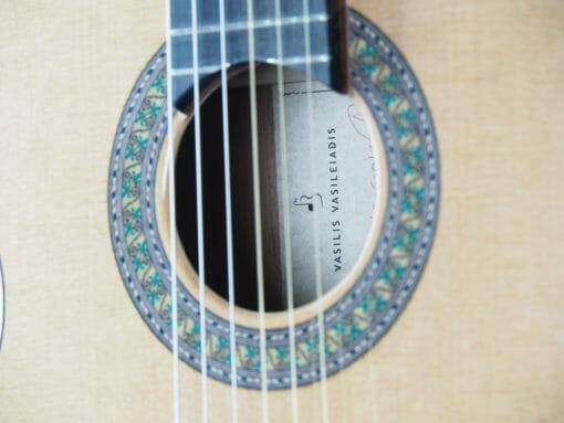 Luthier Vasilis Vasileiadis guitare classique 17VAS017-01