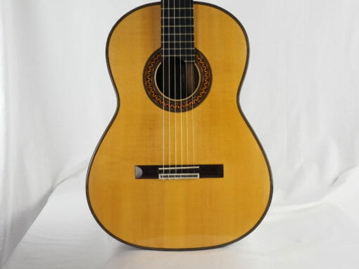 Luthier Christian Koehn double-table Balsa
