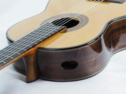 Luthier Christian Koehn double-table Balsa