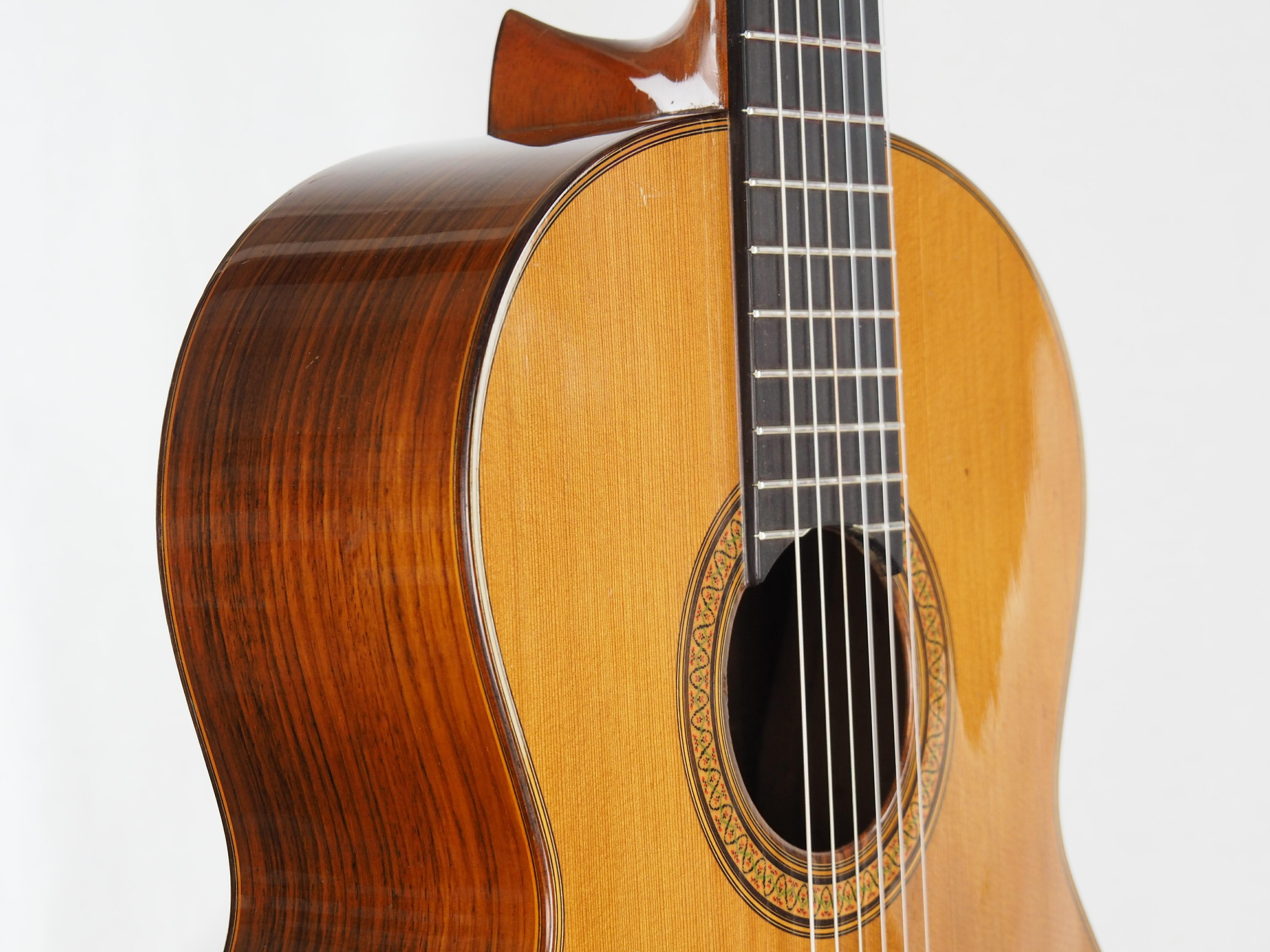 Luthier Jose Ramirez guitare classique