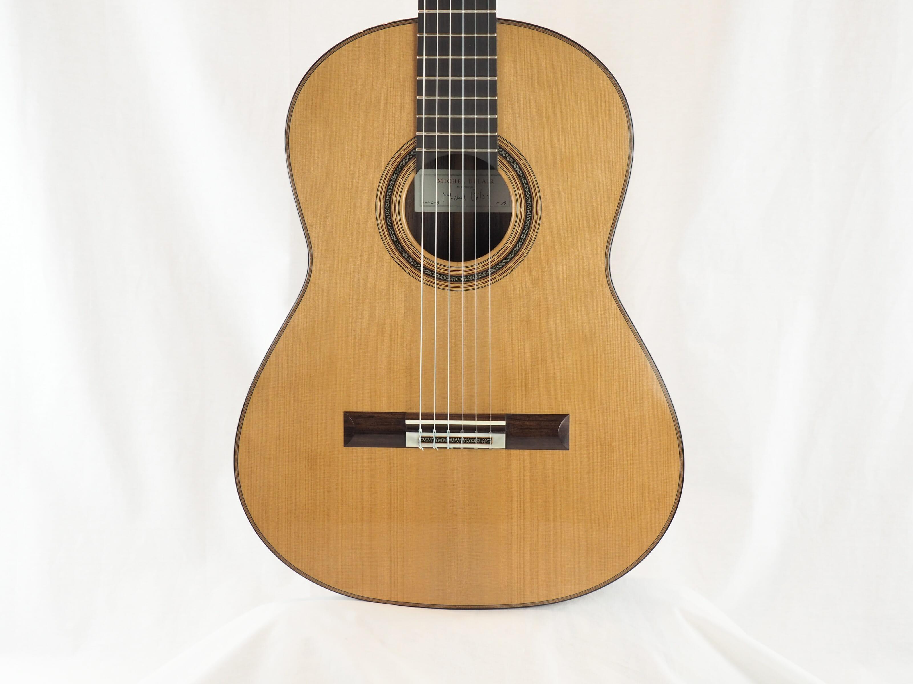 Michel Belair luthier guitare classique 2019 19BEL019-10