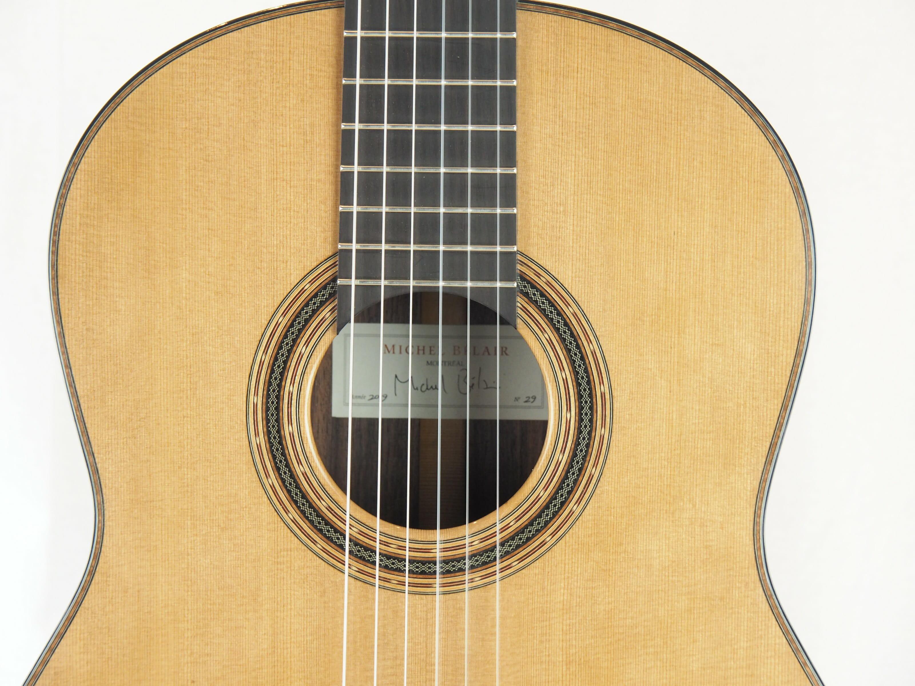 Michel Belair luthier guitare classique 2019 19BEL019-09