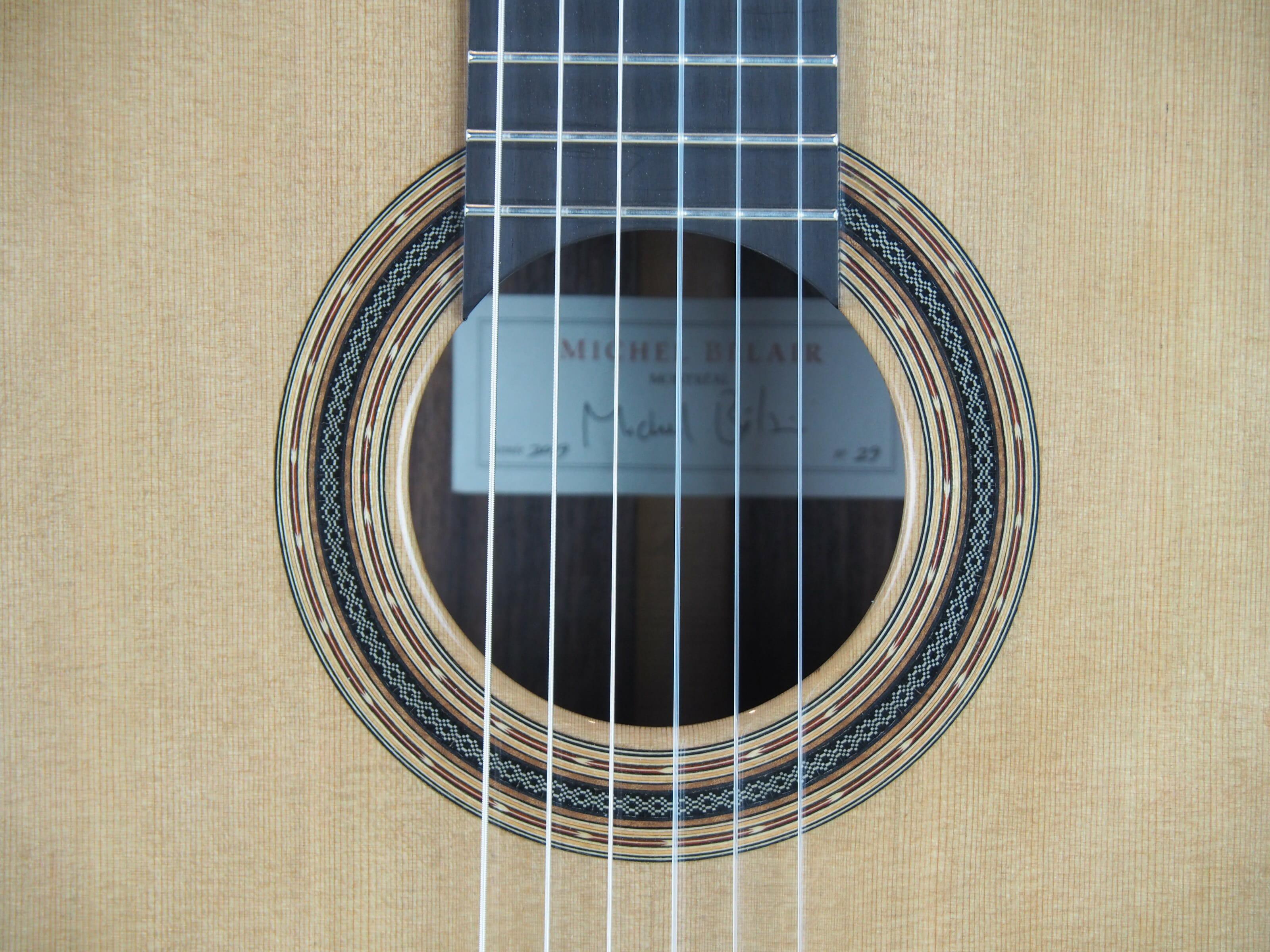 Michel Belair luthier guitare classique 2019 19BEL019-08