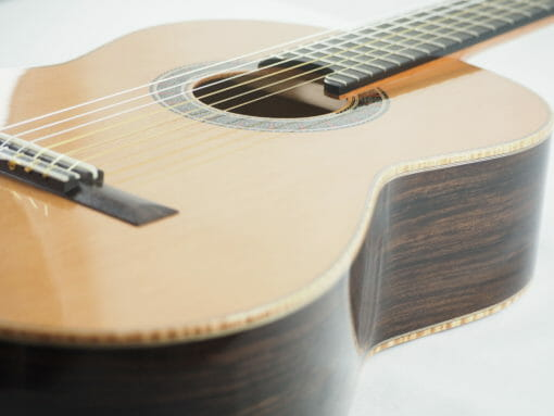 Luthier martin Blackwell guitare classique n°135