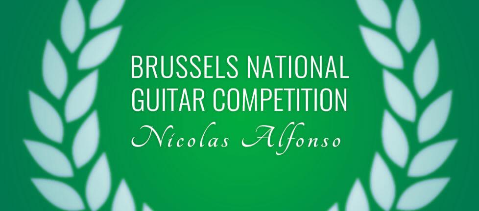Logo festival de guitare de Bruxelles