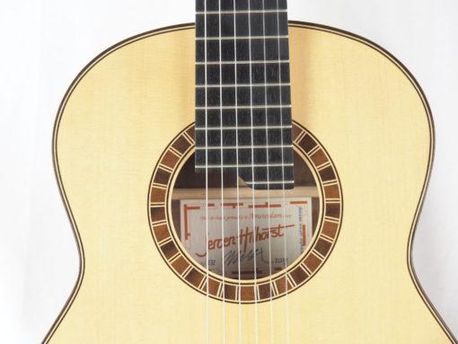 Luthier Jeroen Hilhorst Guitare classique No 131 19HIL131-07