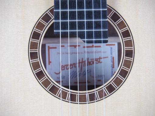 Luthier Jeroen Hilhorst Guitare classique No 131 19HIL131-06