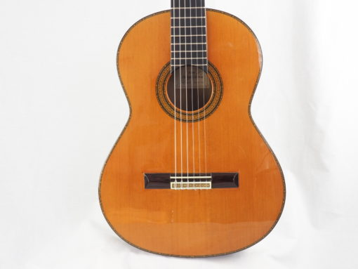 Manuel Contreras guitare classique luthier doble tap 1987 19CON087-08