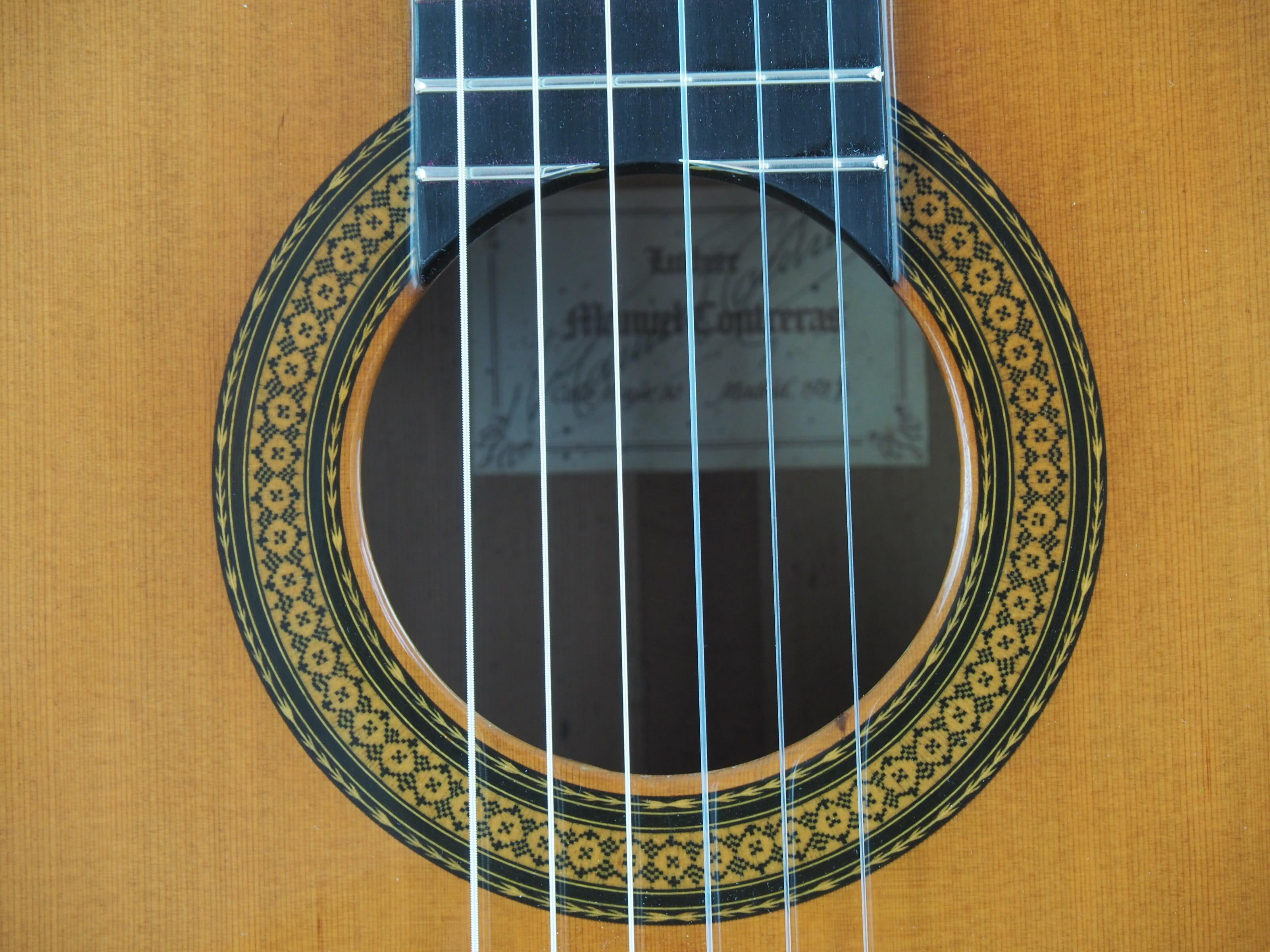 Manuel Contreras guitare classique luthier doble tap 1987 19CON087-05