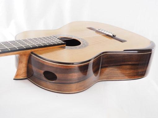 Charalampos Koumridis luthier guitare classique double-table 18KOU104-03