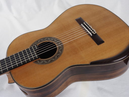 Charalampos Koumridis luthier guitare classique 18KOU103-01