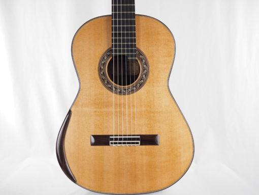 Charalampos Koumridis luthier guitare classique double-table 18KOU104-09