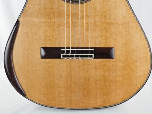 Charalampos Koumridis luthier guitare classique double-table 18KOU104-07