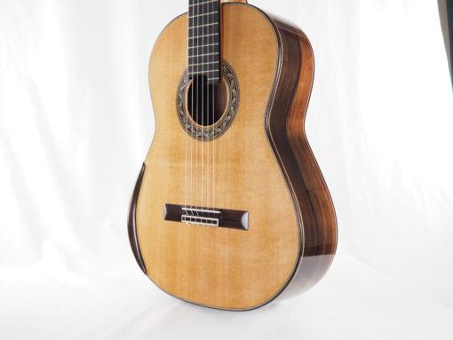 Charalampos Koumridis luthier guitare classique double-table 18KOU104-06