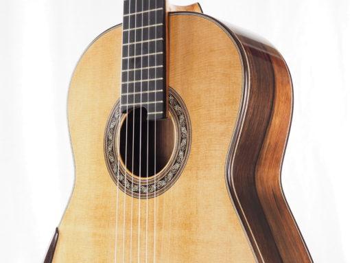 Charalampos Koumridis luthier guitare classique double-table 18KOU104-05