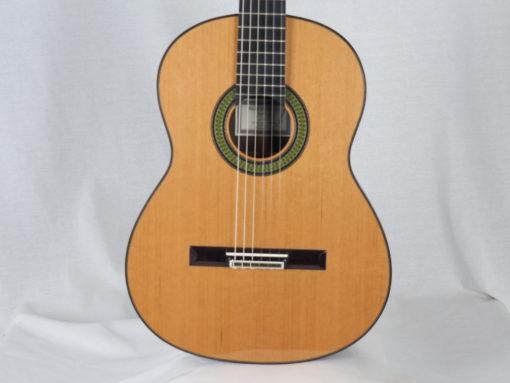 Guitare classique double-table luthier Reza Safavian www.guitare-classique-concert.fr