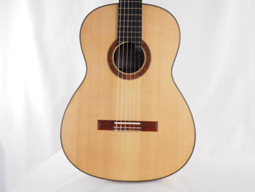 guitare classique Gypsy Rye Bear luthier lattice table 18BEA018-11