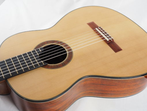 guitare classique Gypsy Rye Bear luthier lattice 18BEA018-02
